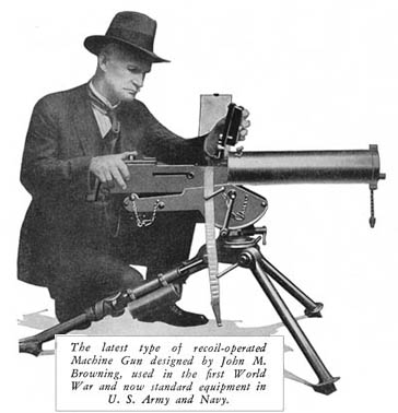 Browning and his 1917.jpg (26480 bytes)